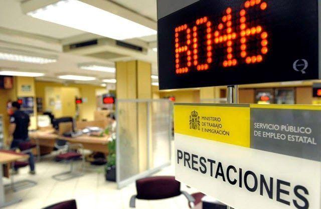 Oficina de prestaciones para solicitar el paro o subsidio