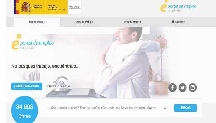 Conoce  Empléate, el portal de empleo del SEPE.