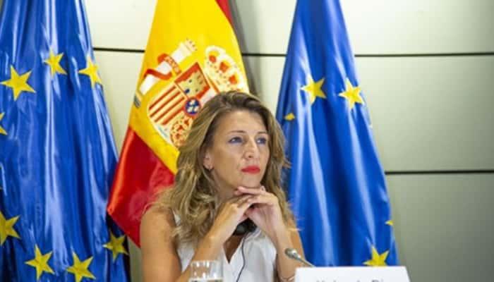 Ministra Yolanda Díaz