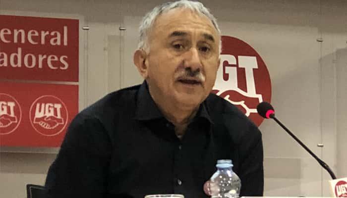 Pepe Álvarez de UGT