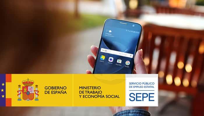 telefóno del SEPE y SMS