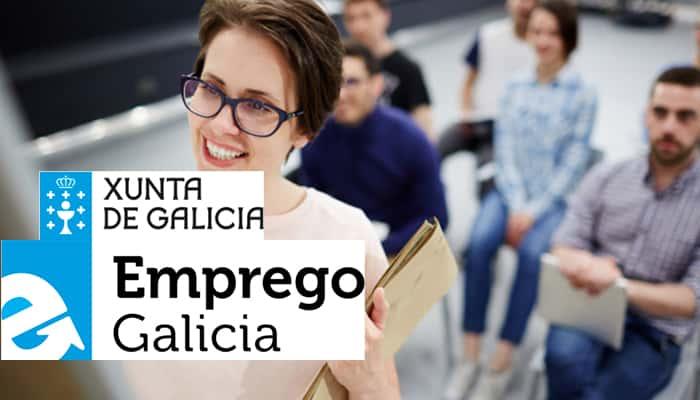 Cursos de la Xuntad e Galicia, por medio de Emprego