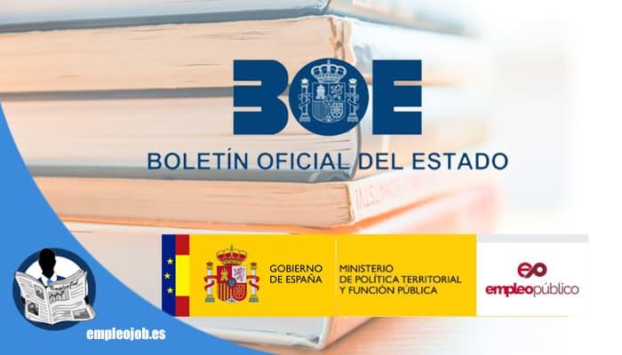 Boletín de Empleo Público para oposiciones