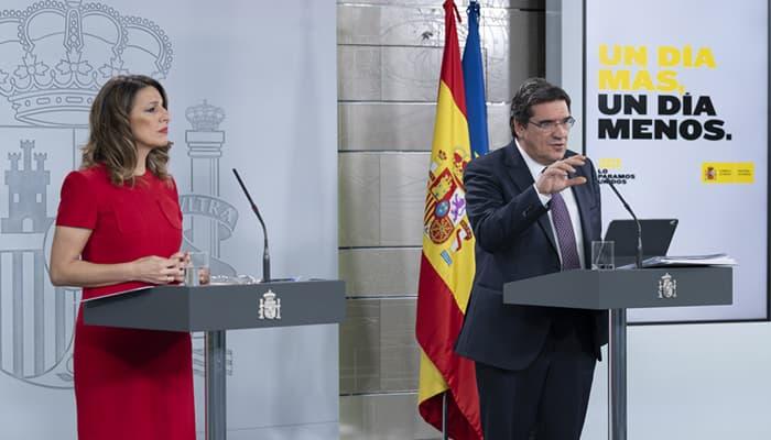Yolanda Díaz y Jose Lúis Escrivá