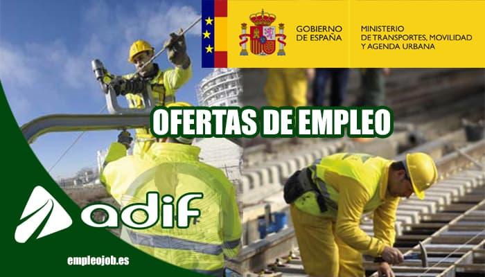 Oferta de empleo en ADIF