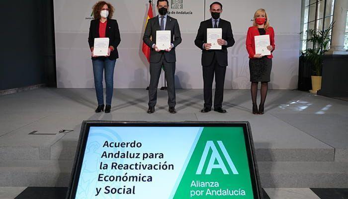 Acuerdo Andaluz para la Reactivación Económica y Social en Andalucía