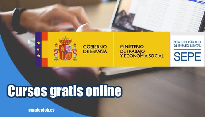 Cursos gratis online del SEPE