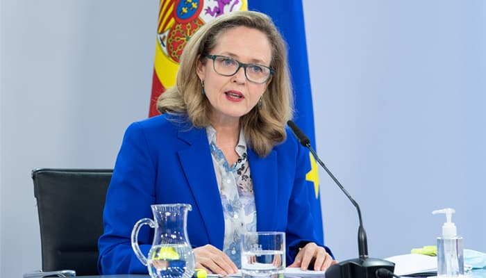 Ministra Nadia Calviño