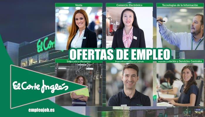 Ofertas de empleo en El Corte Inglés