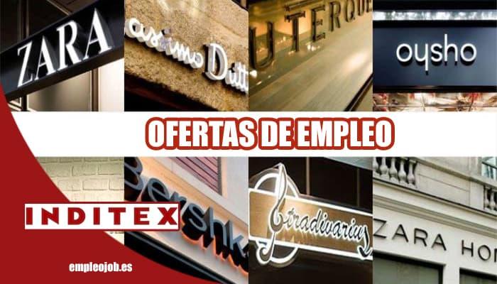 Ofertas de empleo en el Grupo Inditex