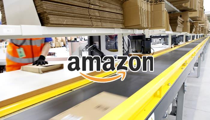 amazon centro logistico