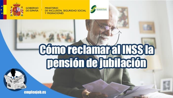 Pensión de jubilación denegada: cómo reclamar