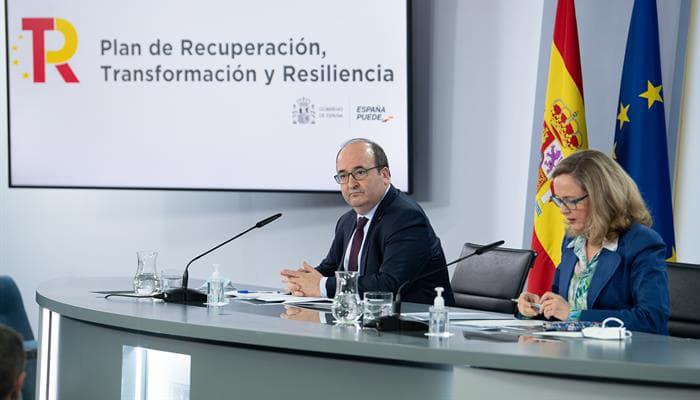 Ministro Iceta y Ministra Calviño