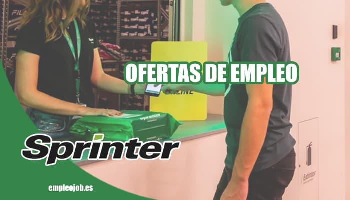 Ofertas de empleo en Sprinter