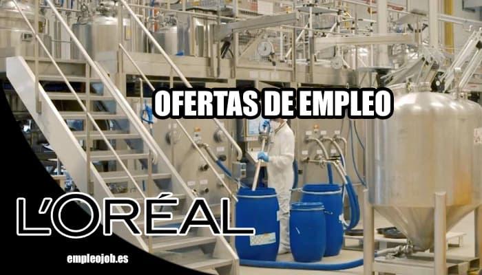 L´Oréal busca operarios para su fábrica en Burgos