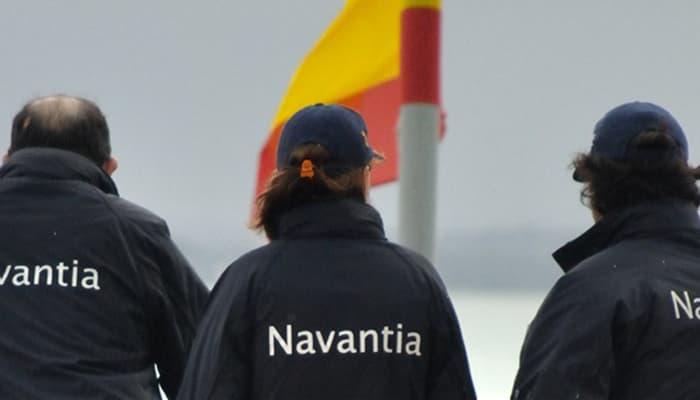 Trabajadorse astilleros Navantia