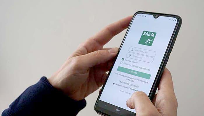App móvil del Servicio Andaluz de Empleo (SAE)