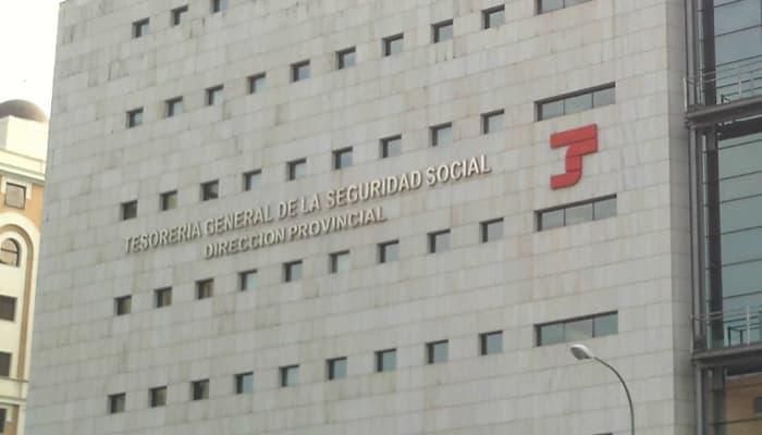 Fachada de la Tesorería General de la Seguridad Social