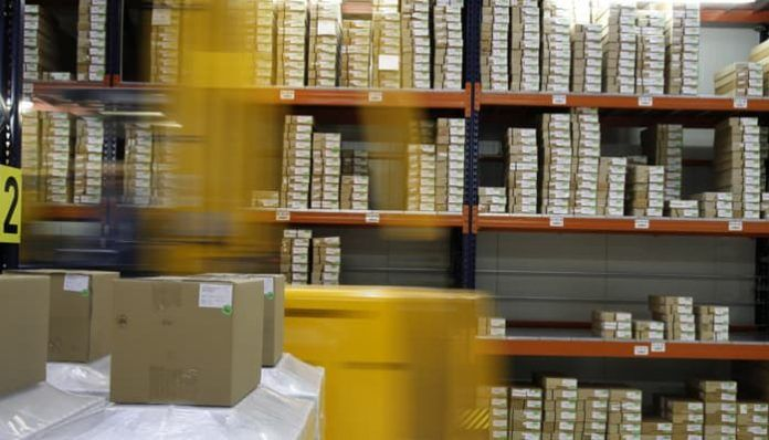 Nave almacen logistico