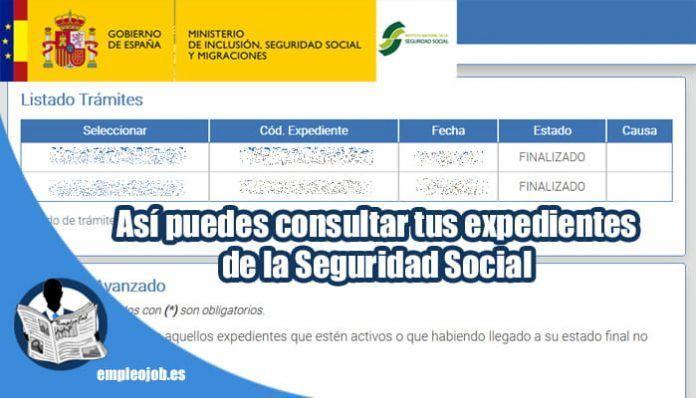 Cómo consultar online el estado de los trámites de la Seguridad Social