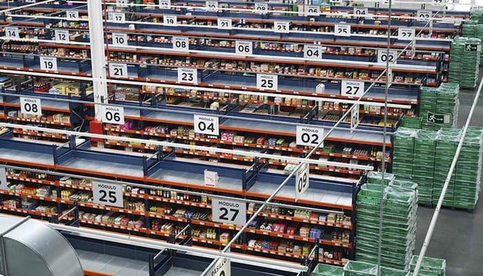 Colmena de Mercadona en Valencia