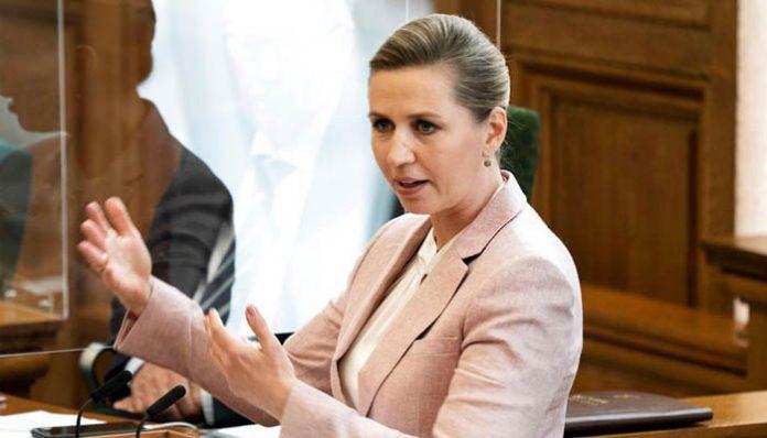 Primera ministra danesa, Mette Frederiksen
