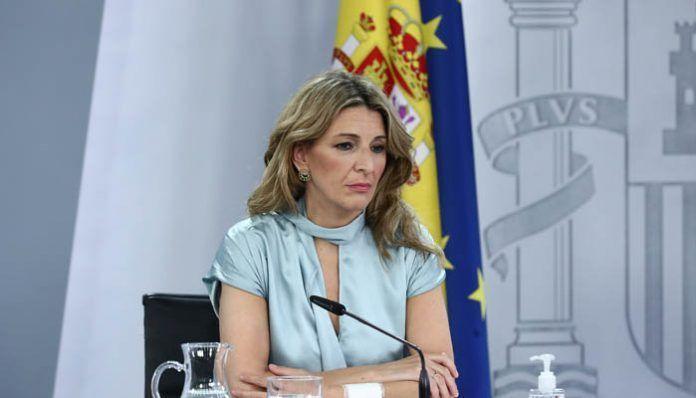 Ministra de Trabajo Yolanda Díaz