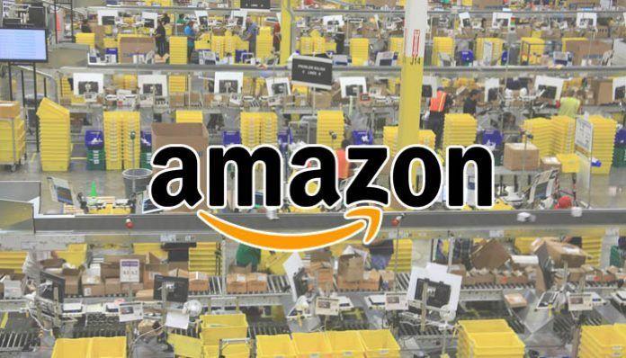 Trabajar en Centro logístico Amazon