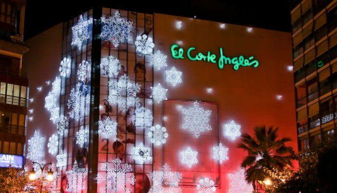 Decoración de Navidad de El Corte Inglés