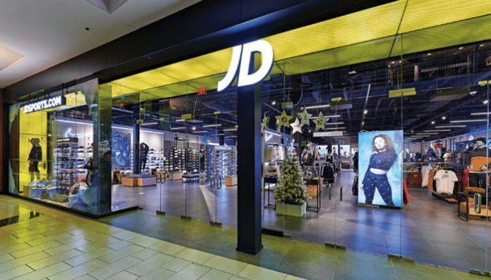 Entrada tienda JD Sport