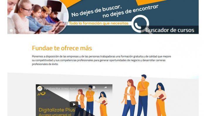 Digitalízate plus: cursos del SEPE