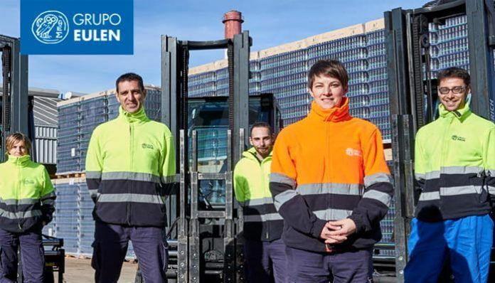 Trabajadores del Grupo EULEN